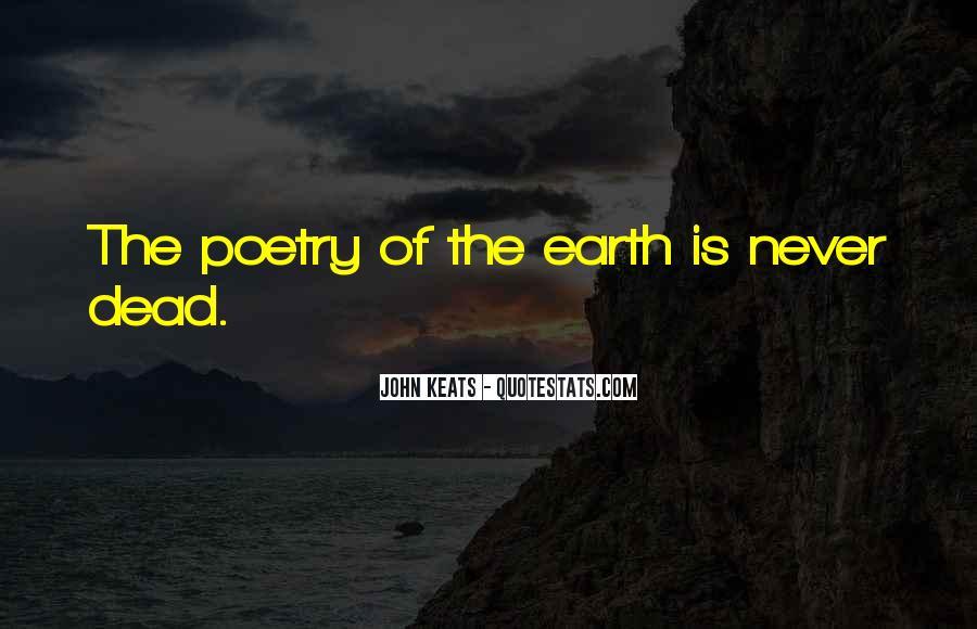 John Keats Quotes #1541687