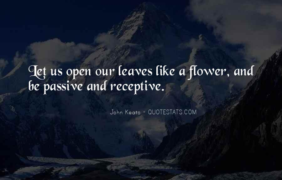 John Keats Quotes #1604394