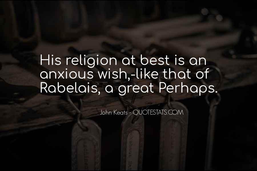 John Keats Quotes #19264