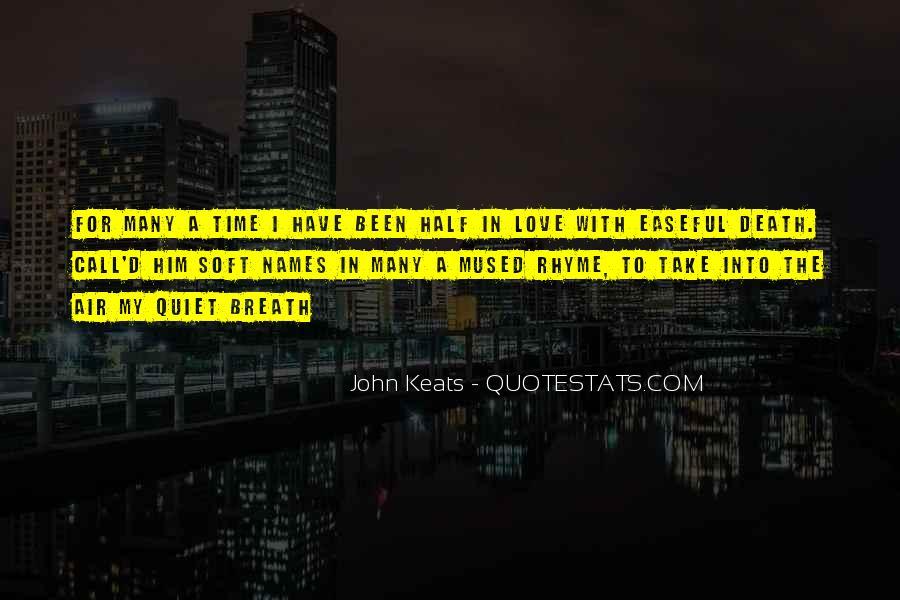 John Keats Quotes #227897
