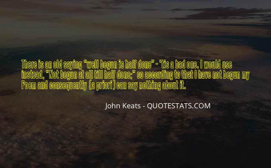 John Keats Quotes #421009