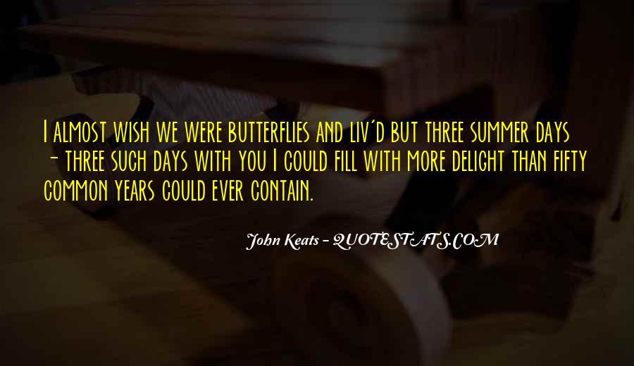 John Keats Quotes #554685