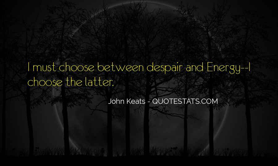 John Keats Quotes #567753