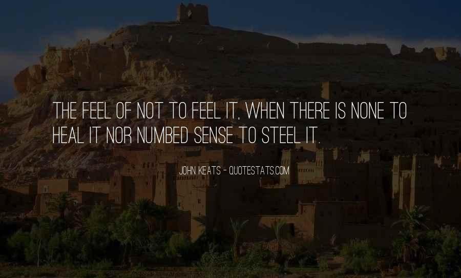 John Keats Quotes #681456