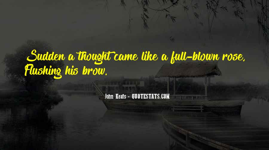 John Keats Quotes #725743