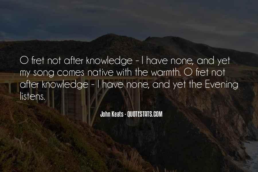 John Keats Quotes #728828