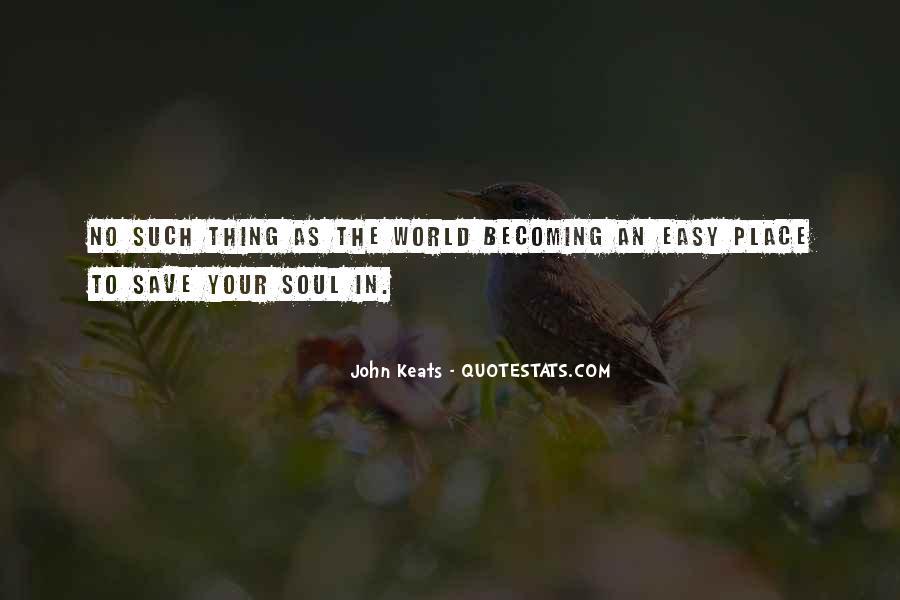 John Keats Quotes #750214