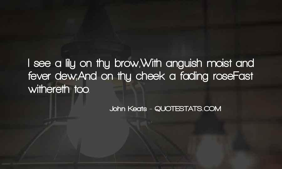 John Keats Quotes #838460