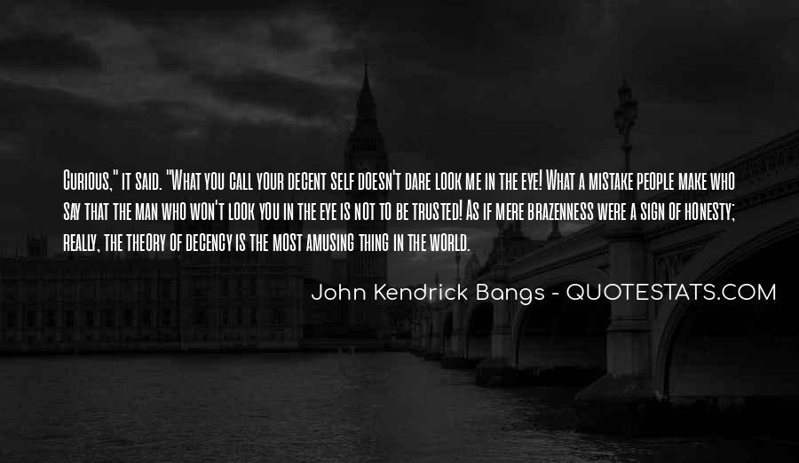 John Kendrick Bangs Quotes #310562