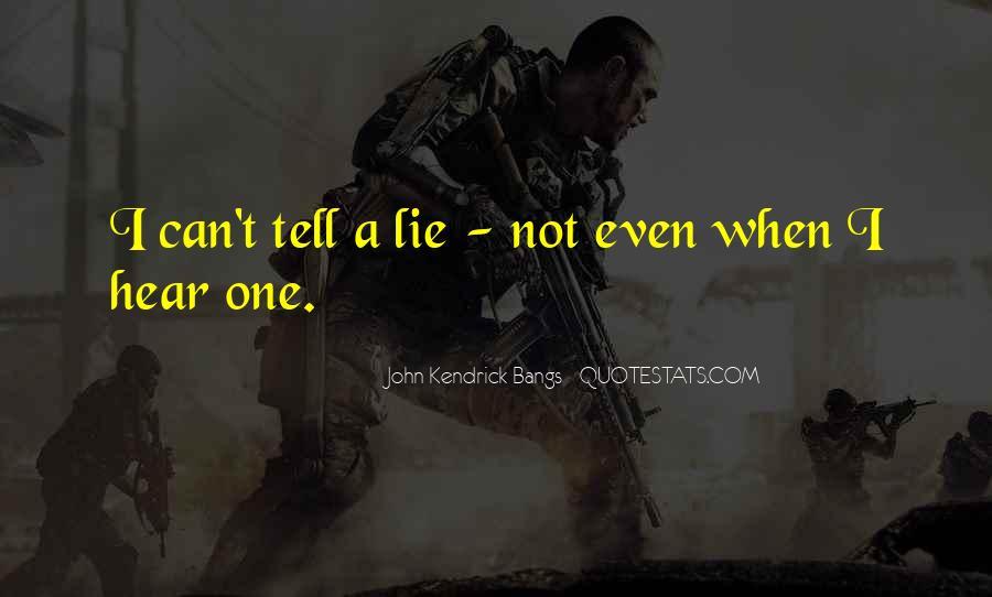 John Kendrick Bangs Quotes #320997