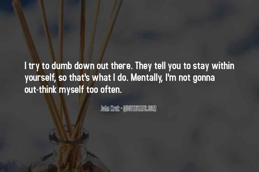 John Kruk Quotes #941501