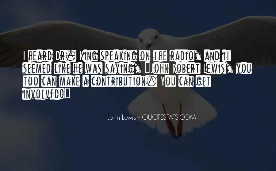 John Lewis Quotes #1678934