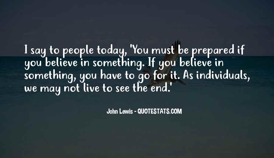 John Lewis Quotes #857276
