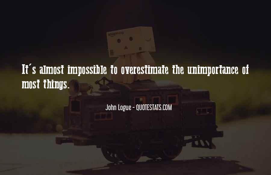 John Logue Quotes #1222762
