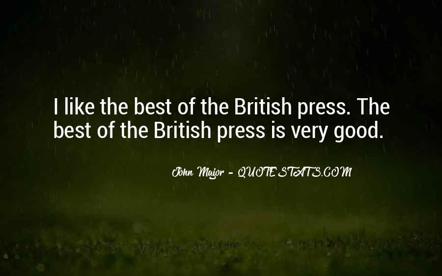 John Major Quotes #1152984