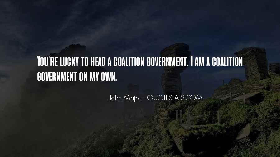 John Major Quotes #1420792