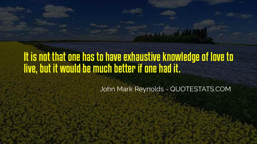 John Mark Reynolds Quotes #1516303