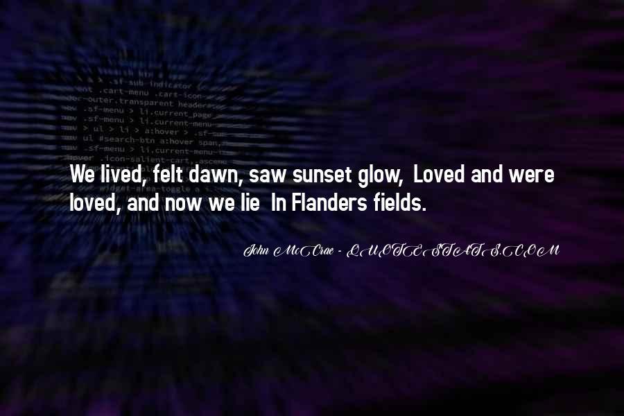 John McCrae Quotes #1359078