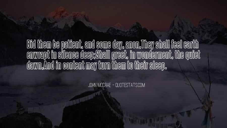 John McCrae Quotes #532804