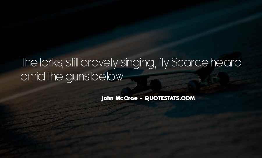 John McCrae Quotes #556796