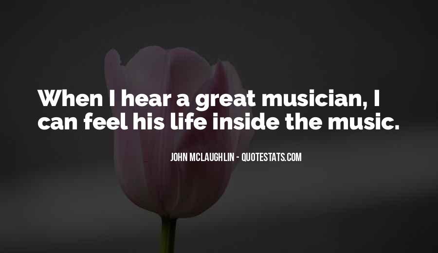 John McLaughlin Quotes #78287