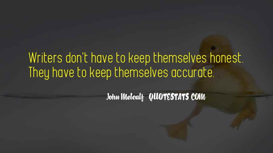 John Metcalf Quotes #547127