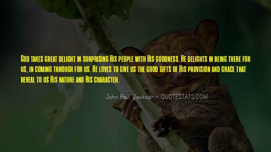 John Paul Jackson Quotes #232818