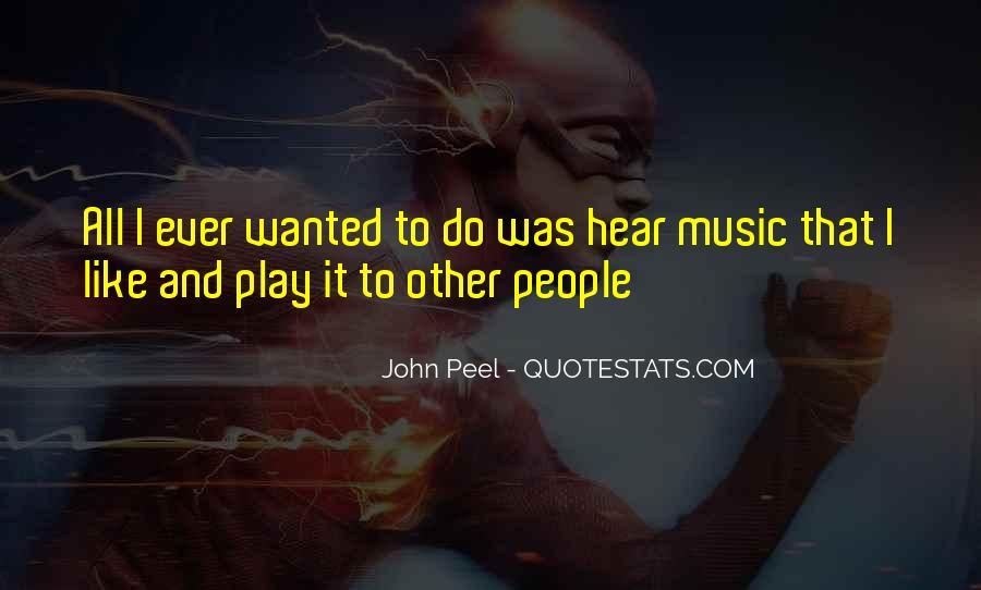 John Peel Quotes #681811