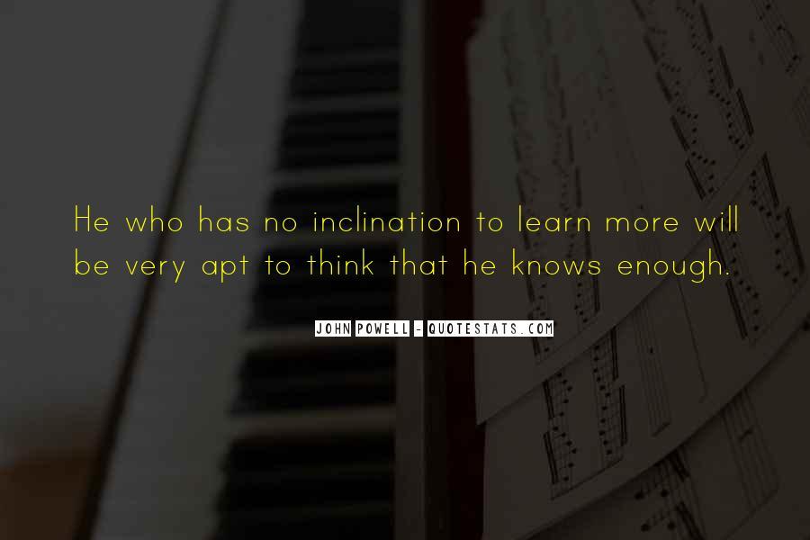 John Powell Quotes #1619988