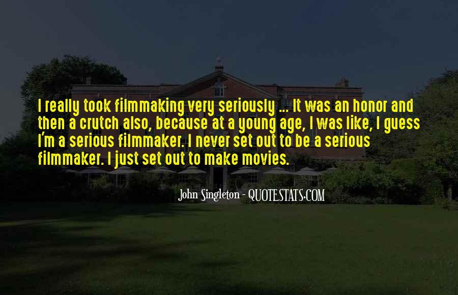 John Singleton Quotes #1100370