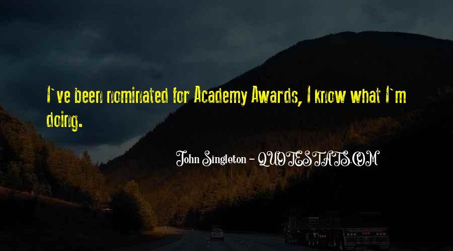 John Singleton Quotes #380554