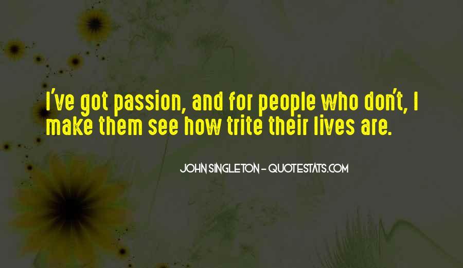 John Singleton Quotes #811068