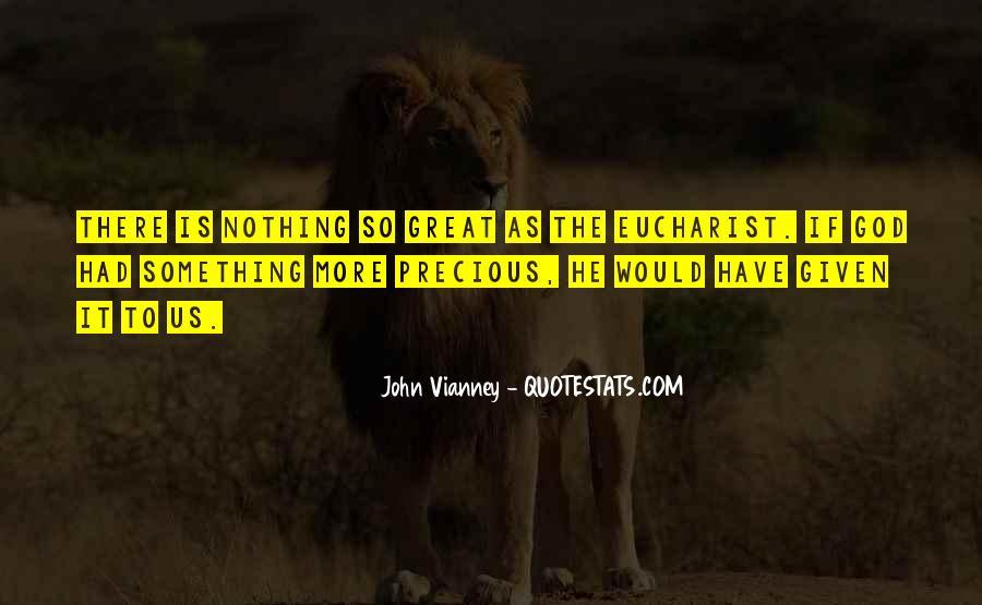 John Vianney Quotes #1258995