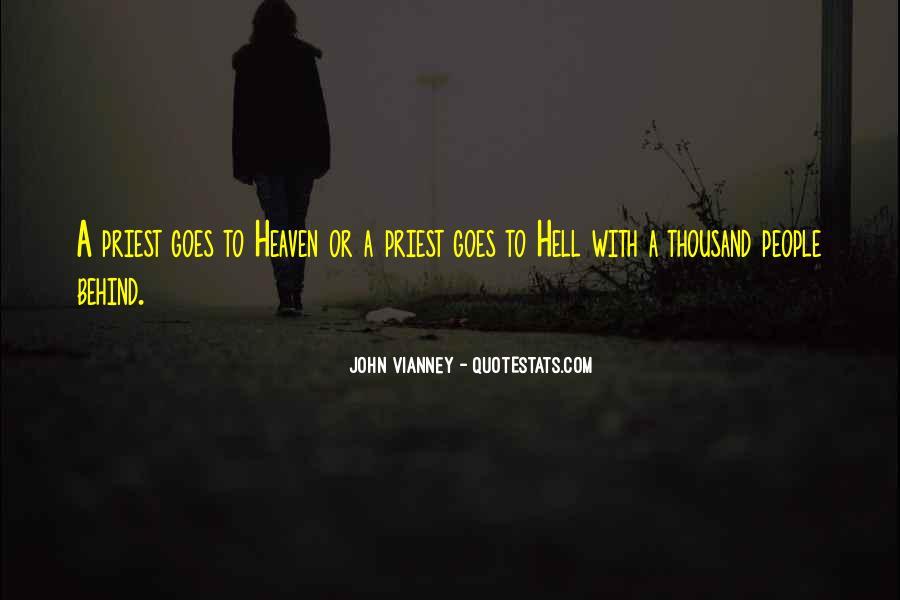 John Vianney Quotes #842733