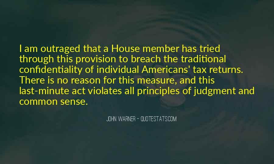 John Warner Quotes #1673930