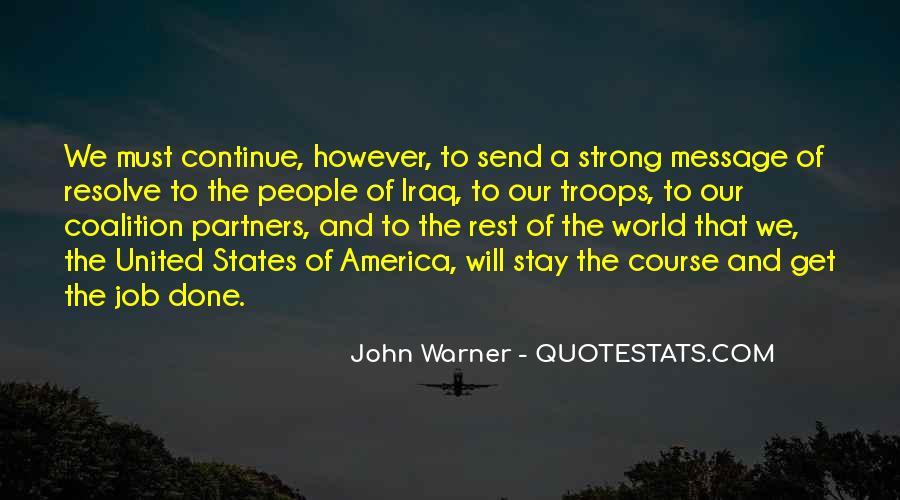 John Warner Quotes #313518
