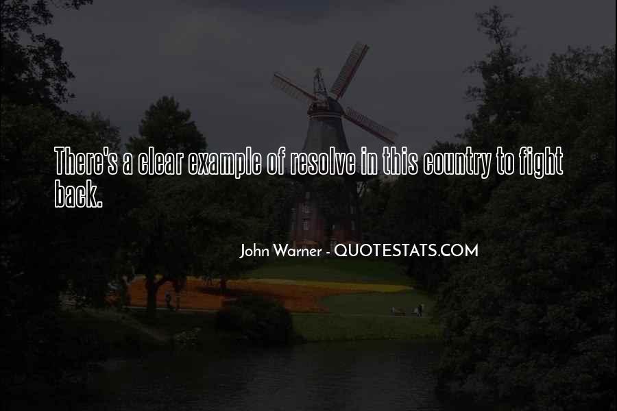 John Warner Quotes #481509
