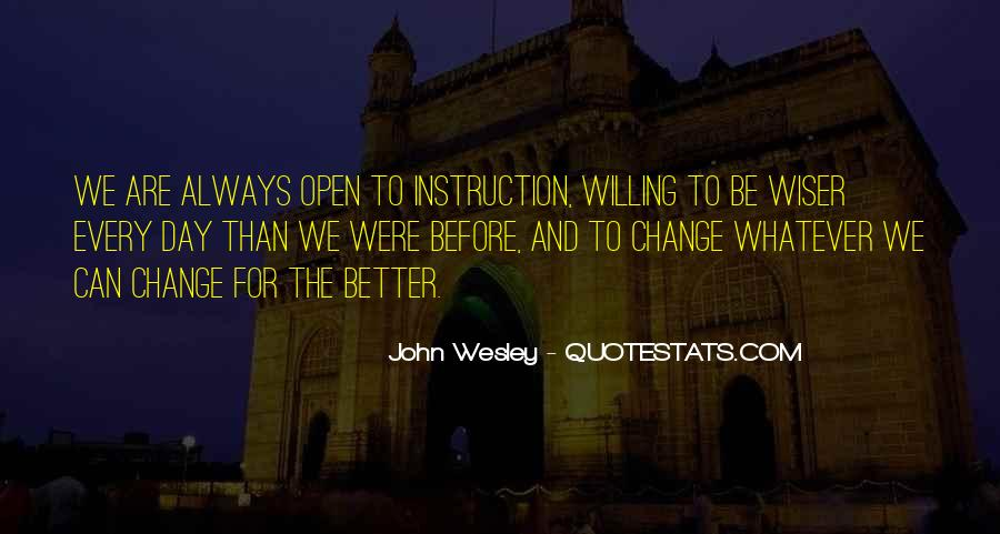 John Wesley Quotes #1105322