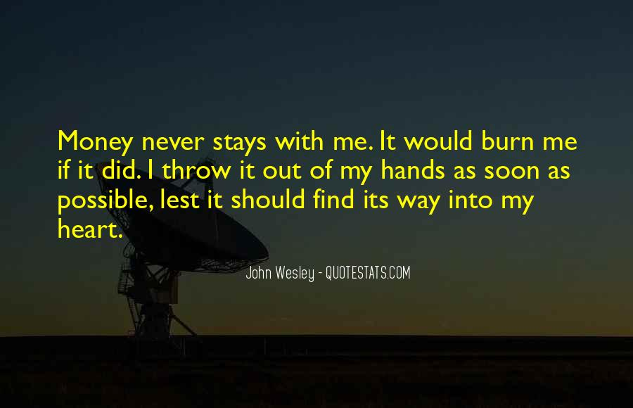 John Wesley Quotes #1153092