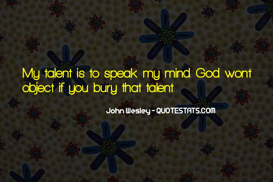 John Wesley Quotes #1167456