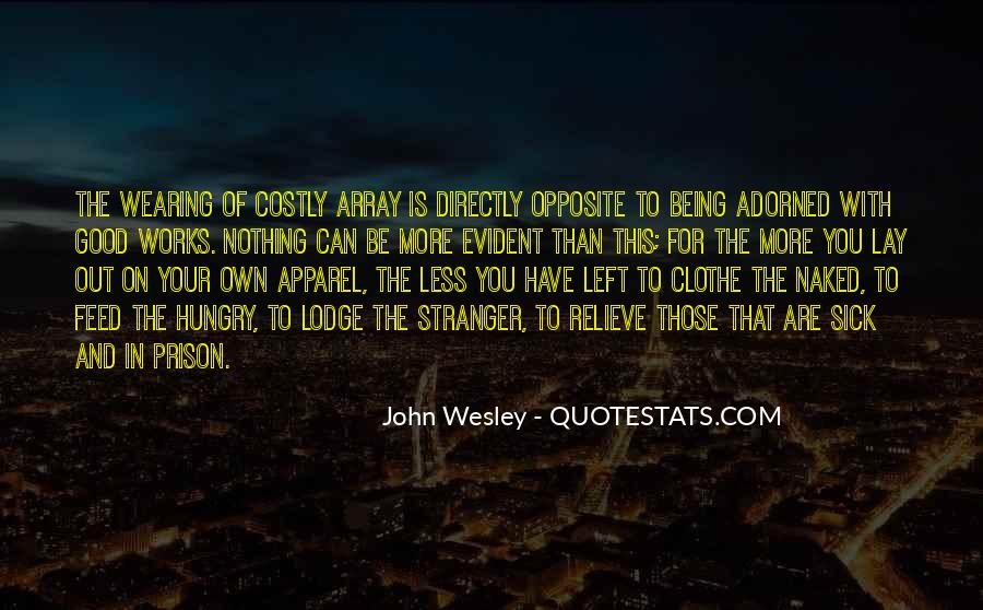 John Wesley Quotes #1203056