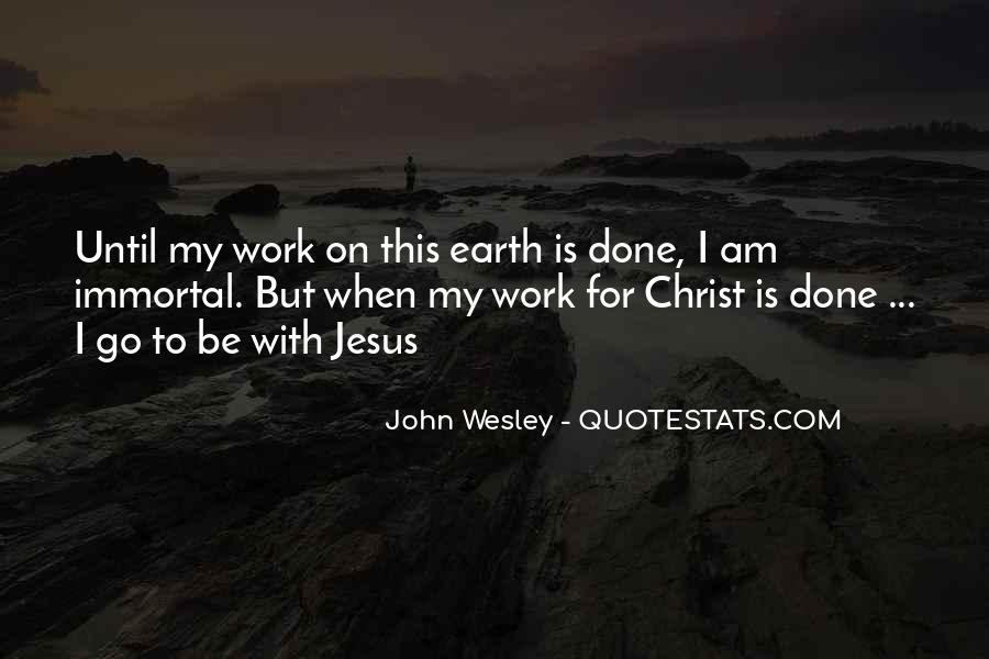 John Wesley Quotes #120525