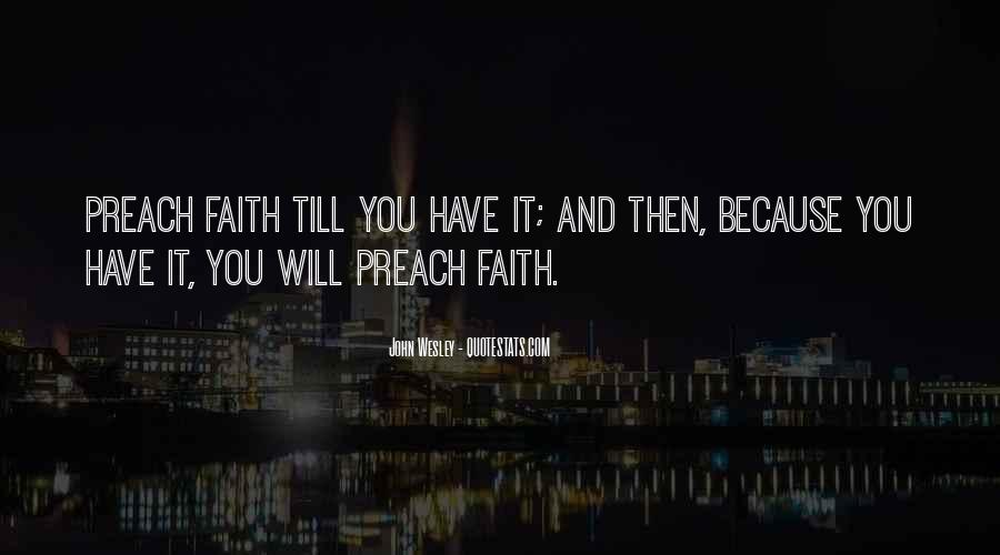 John Wesley Quotes #1404833