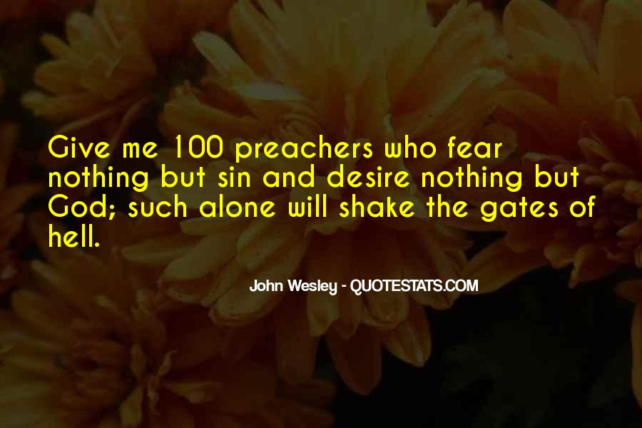 John Wesley Quotes #1453636