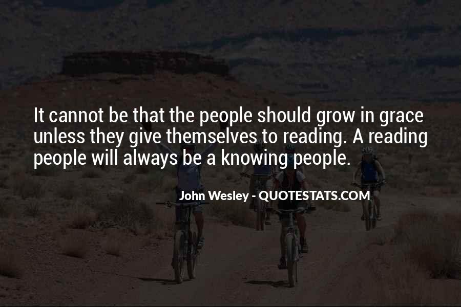 John Wesley Quotes #1513919