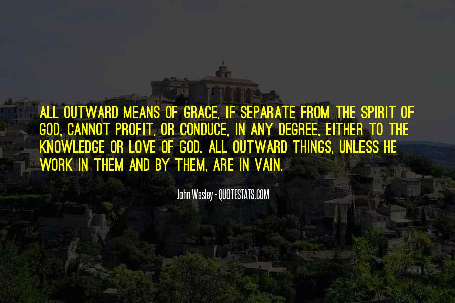 John Wesley Quotes #163882