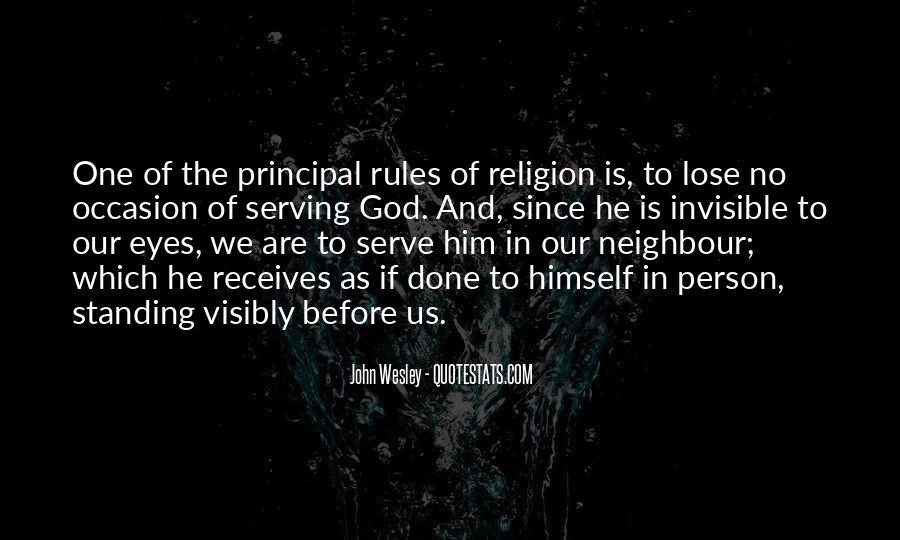 John Wesley Quotes #1673275