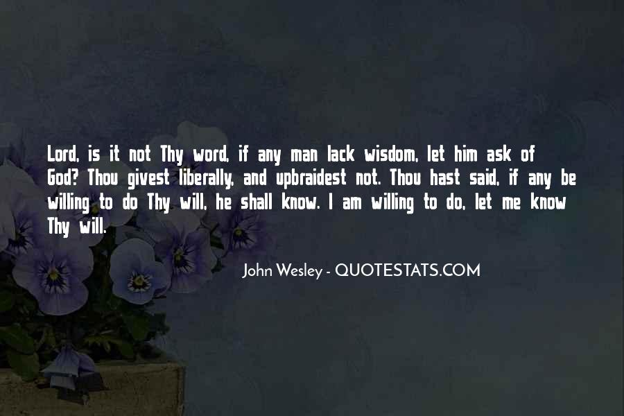 John Wesley Quotes #1758625