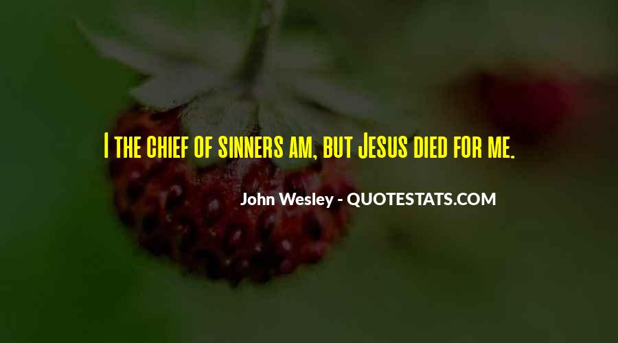 John Wesley Quotes #1796870