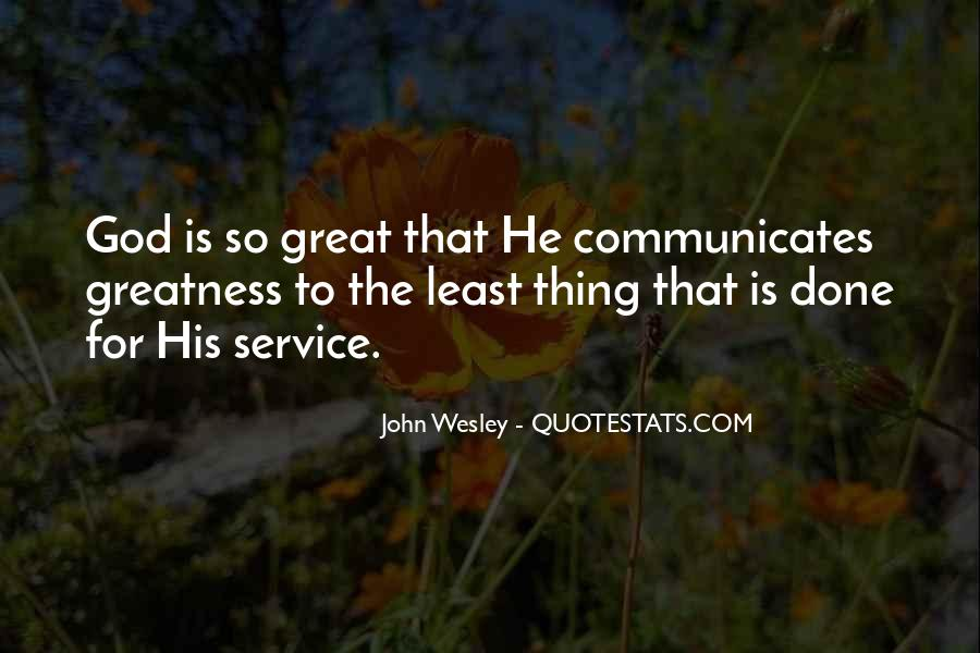 John Wesley Quotes #193539
